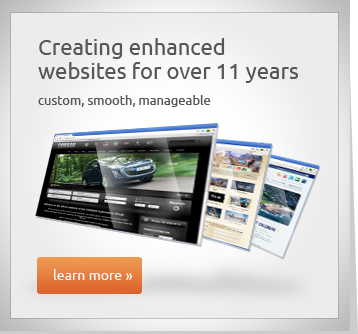 Creating enhanced websites for over 11 years